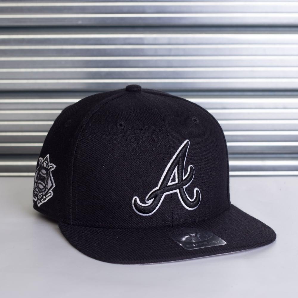 c2aebd47 MLB Atlanta Braves Sure Shot Adjustable Snapback
