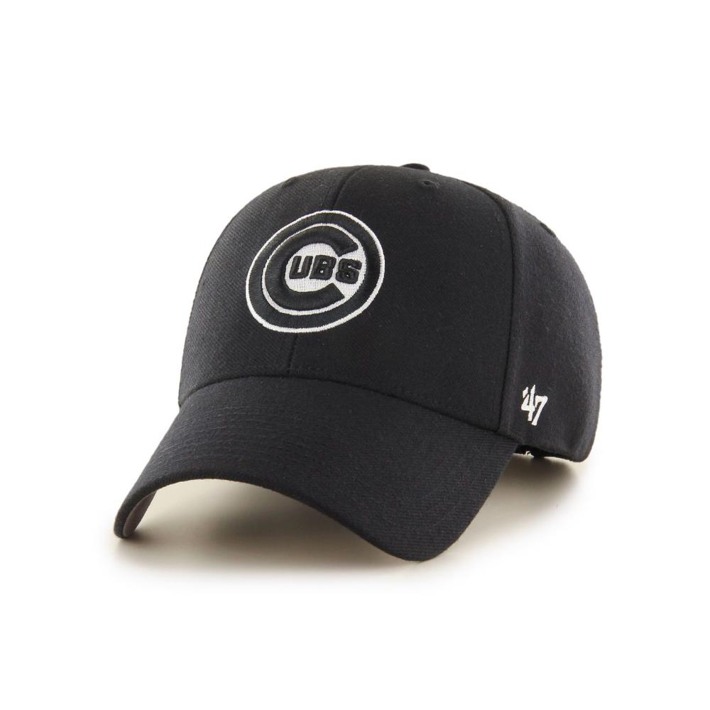 35118e7da2d 47 MLB Chicago Cubs MVP Snapback Cap - Headwear from USA Sports UK