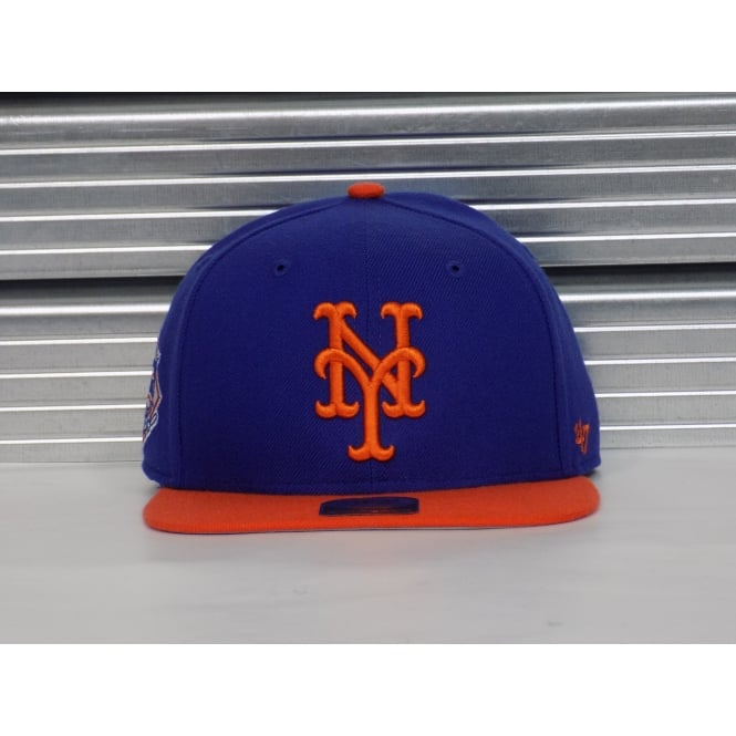 '47 MLB New York Mets Sure Shot 2 Tone Adjustable Snapback