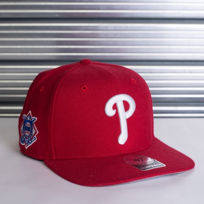 '47 MLB PHILADELPHIA PHILLIES SURE SHOT ADJUSTABLE SNAPBACK