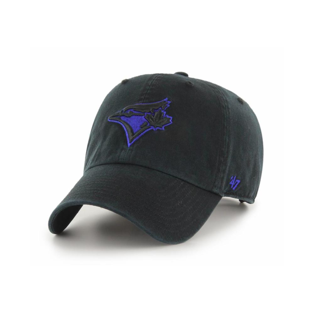9a45127d626 47 MLB Toronto Blue Jays Black Clean Up Adjustable Cap - Headwear ...