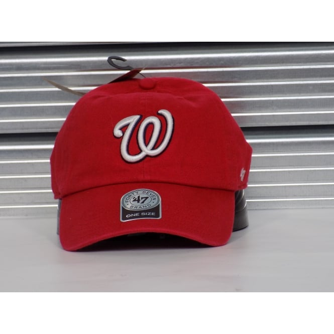 '47 MLB Washington Nationals Clean Up Adjustable Cap