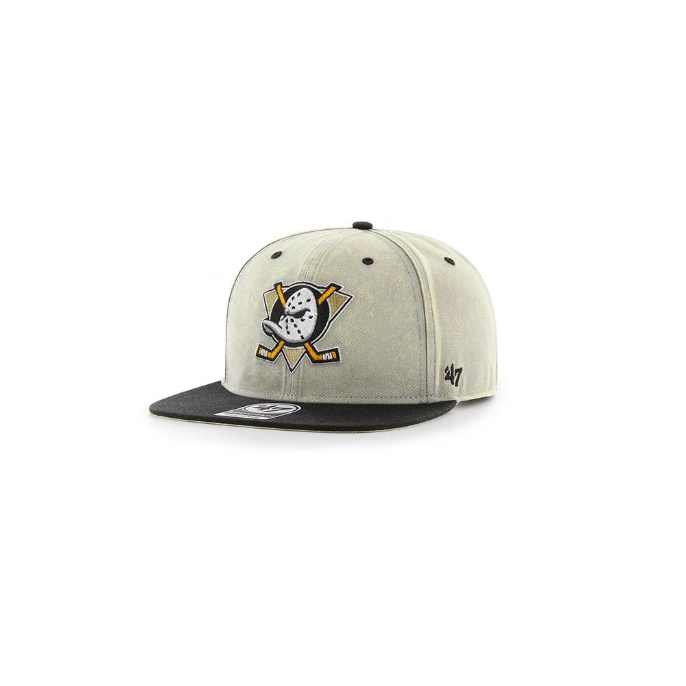 nhl anaheim ducks cement captain snapback cap