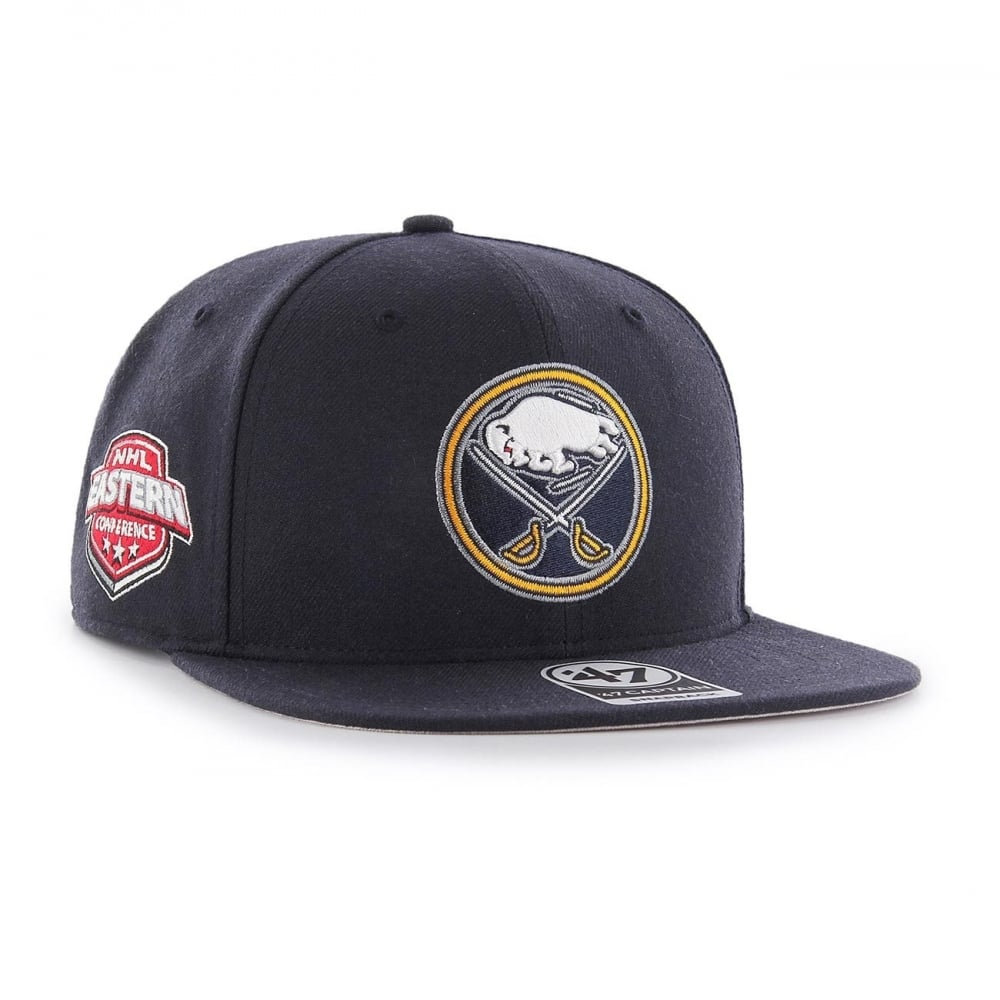 9efbd1e6687 47 NHL Buffalo Sabres Sure Shot Captain Snapback - Headwear from USA ...