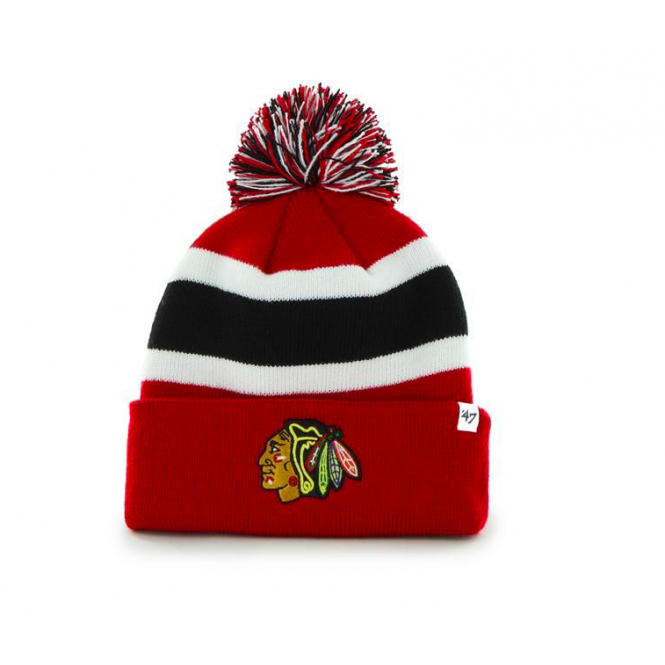 '47 NHL Chicago Blackhawks Breakaway Bobble Knit