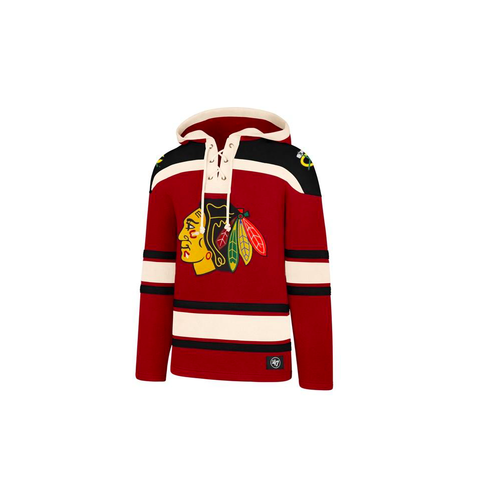 the latest 2e352 18532 NHL Chicago Blackhawks Lacer Jersey Hood