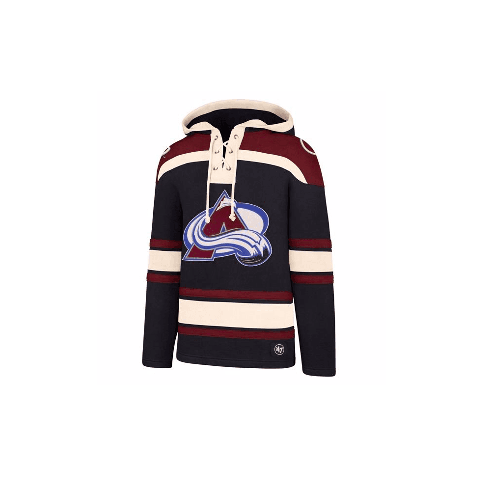 new product dc8af 1ae22 NHL Colorado Avalanche Lacer Jersey Hood