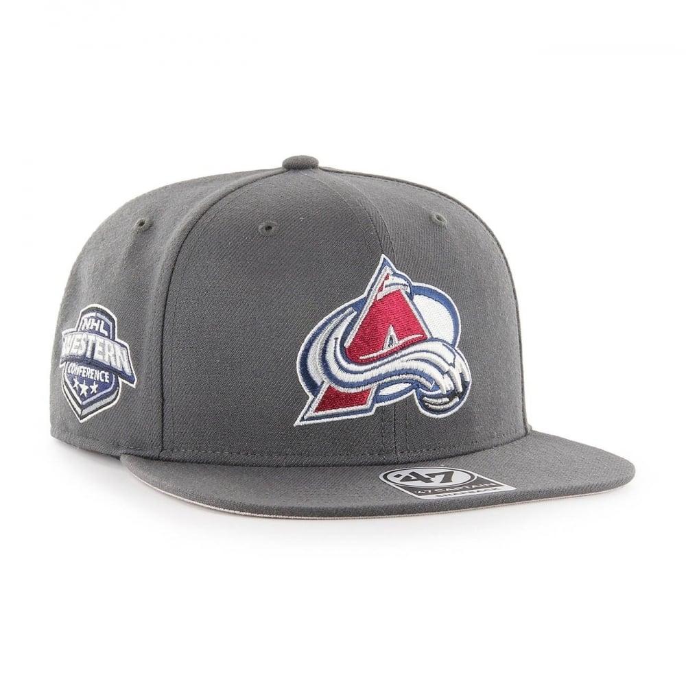 47 NHL Colorado Avalanche Sure Shot Captain Snapback - Headwear from ... 2b32688bd74