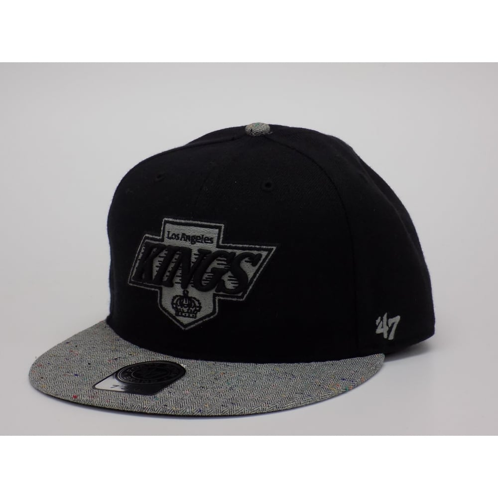 47 NHL Los Angeles Kings Fitted Cap 7 3 8 - Stretch Fit Caps from ... 7d6da248e8e