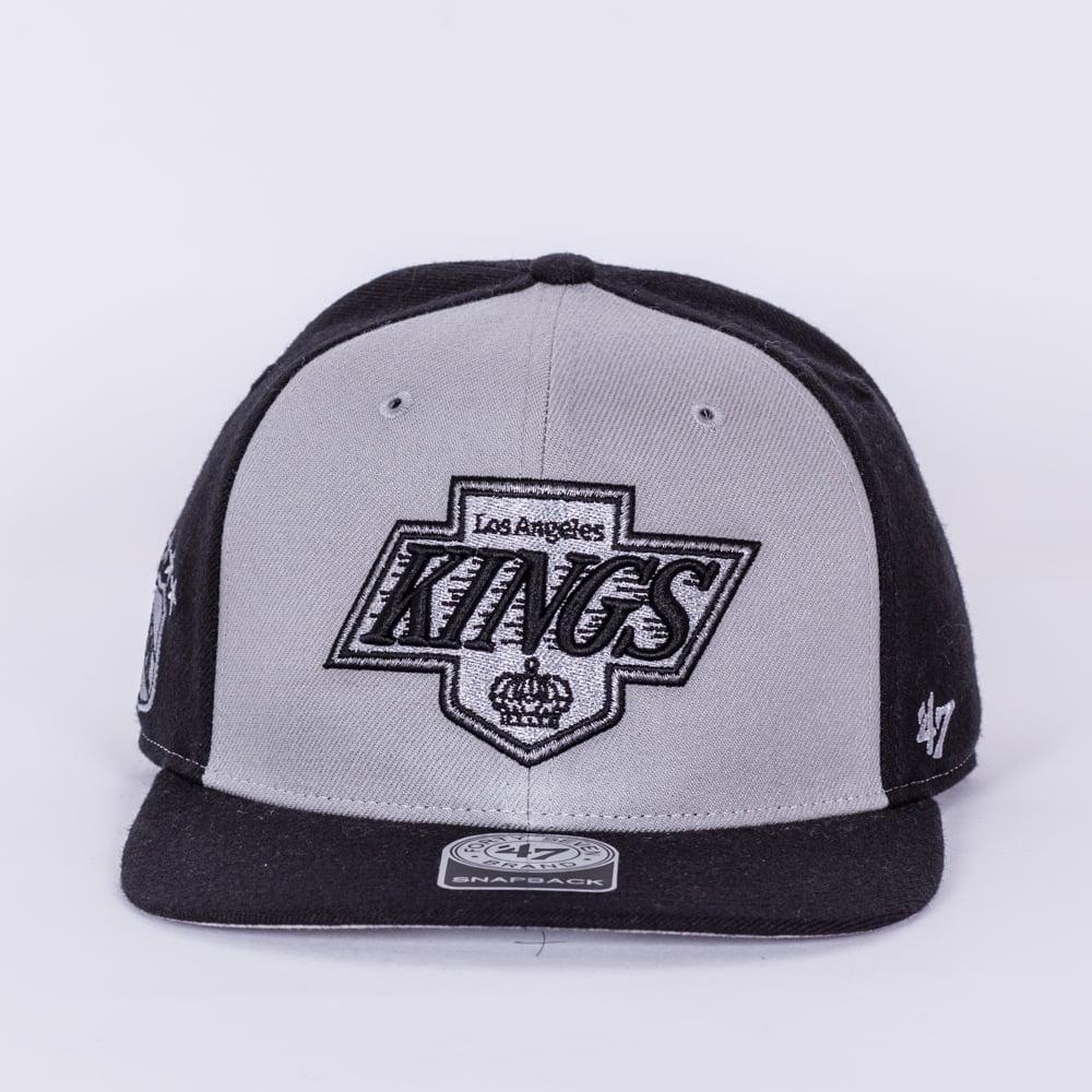47 NHL Los Angeles Kings Sure Shot Captain Snapback Cap - Headwear ... 127ef273c1a