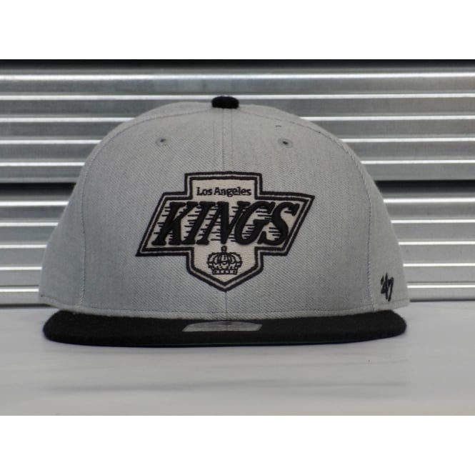 '47 NHL Los Angeles Kings Team Logo 2 Tone Fitted Cap