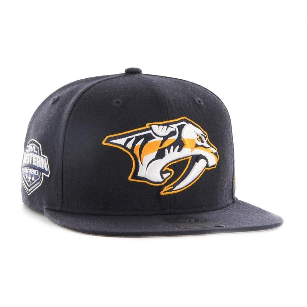 47 NHL Nashville Predators Sure Shot Captain Snapback - Headwear ... edba02c23a0