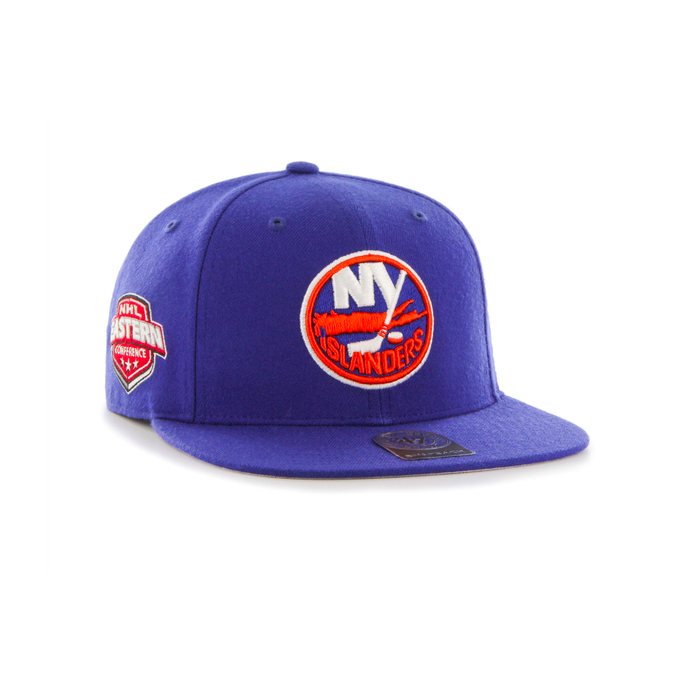 5280fb279a5 47 NHL New York Islanders Sure Shot Captain Snapback - Teams from ...