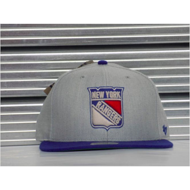 '47 NHL New York Rangers 2 Tone Fitted Cap