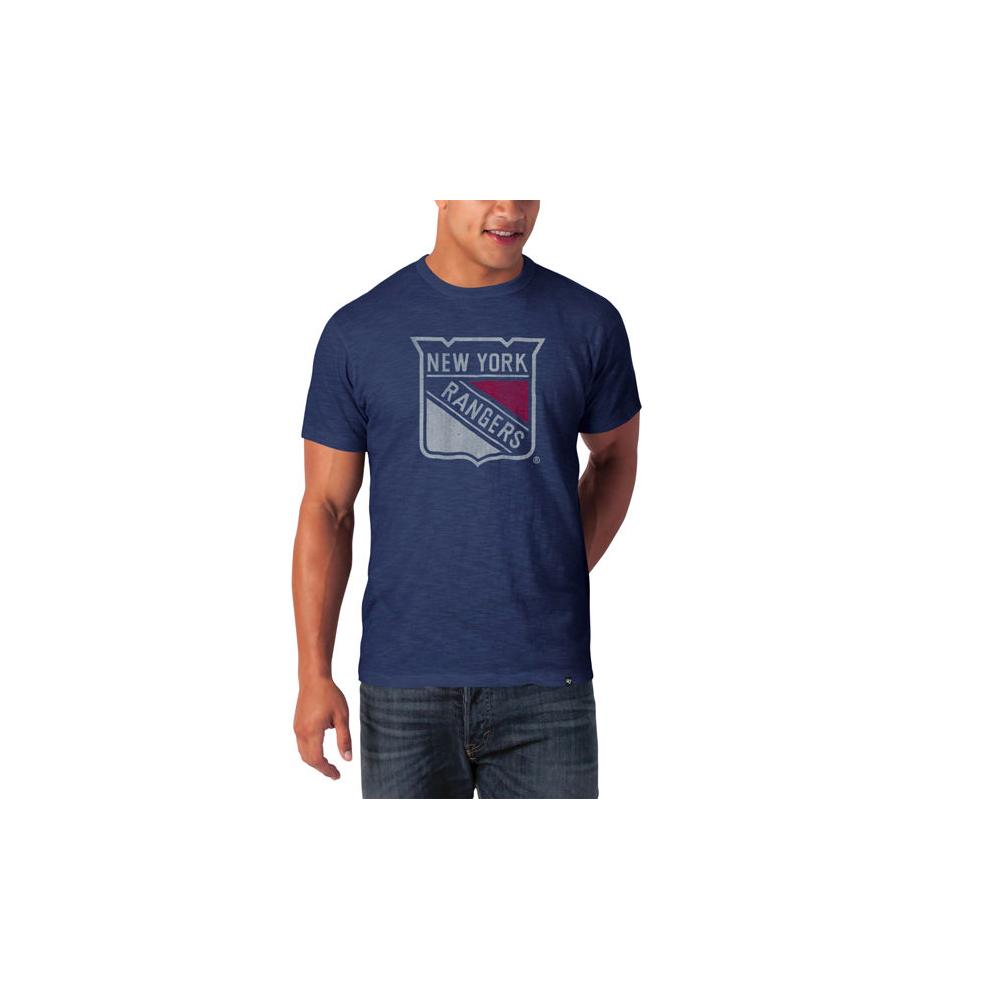 new concept ebe91 3ced4 New York Rangers T Shirt Grey | Top Mode Depot