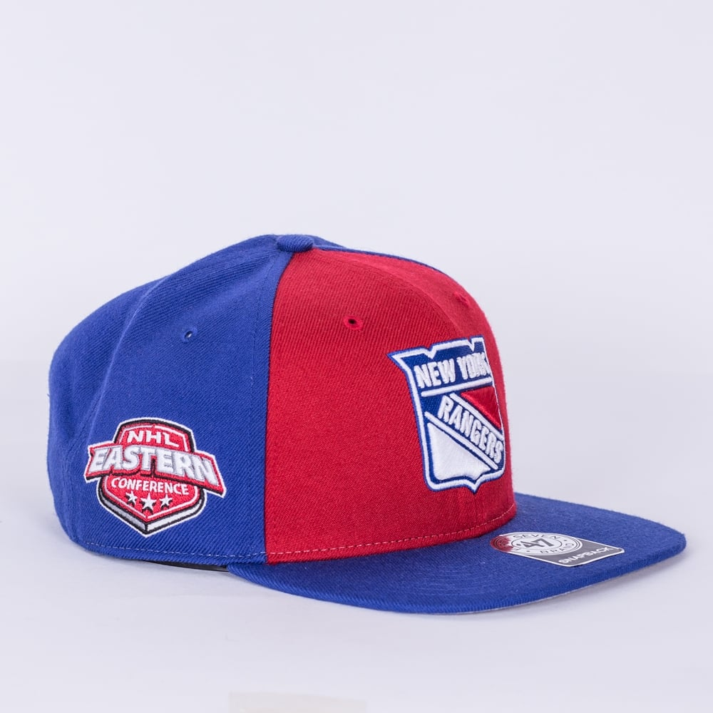 bed280bc43d 47 NHL New York Rangers Sure Shot Captain Snapback Cap - Teams from ...