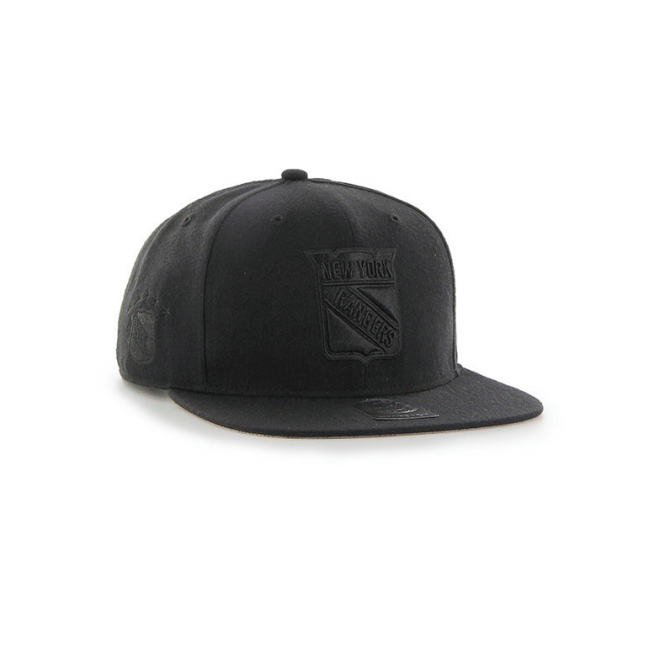 '47 NHL New York Rangers Vintage Blackout Snapback Cap