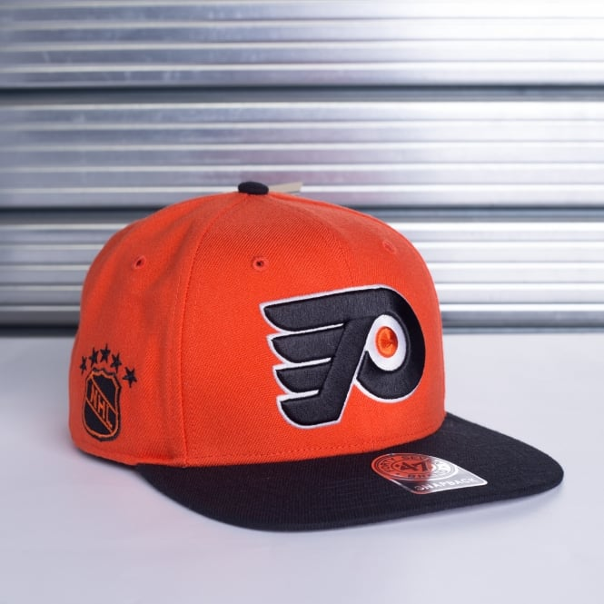'47 NHL Philadelphia Flyers 2 Tone Sure Shot Captain Snapback
