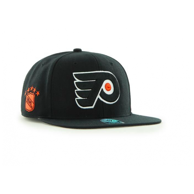'47 NHL Philadelphia Flyers Sure Shot Captain Snapback Cap