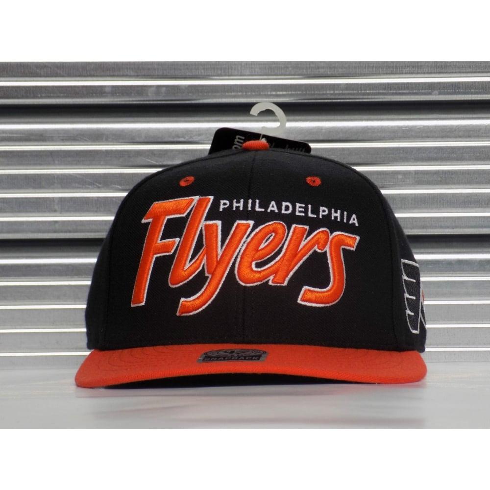 47 NHL Philadelphia Flyers Team Script Snapback f06e019a461