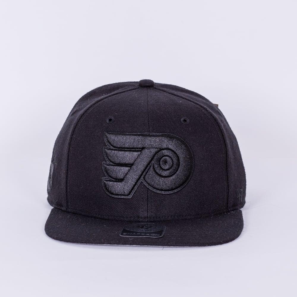 best service 1cdde 56126 NHL Philadelphia Flyers Vintage Blackout Snapback Cap