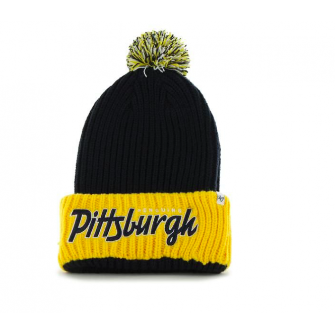 '47 NHL Pittsburgh Penguins Step Back Cuff Knit