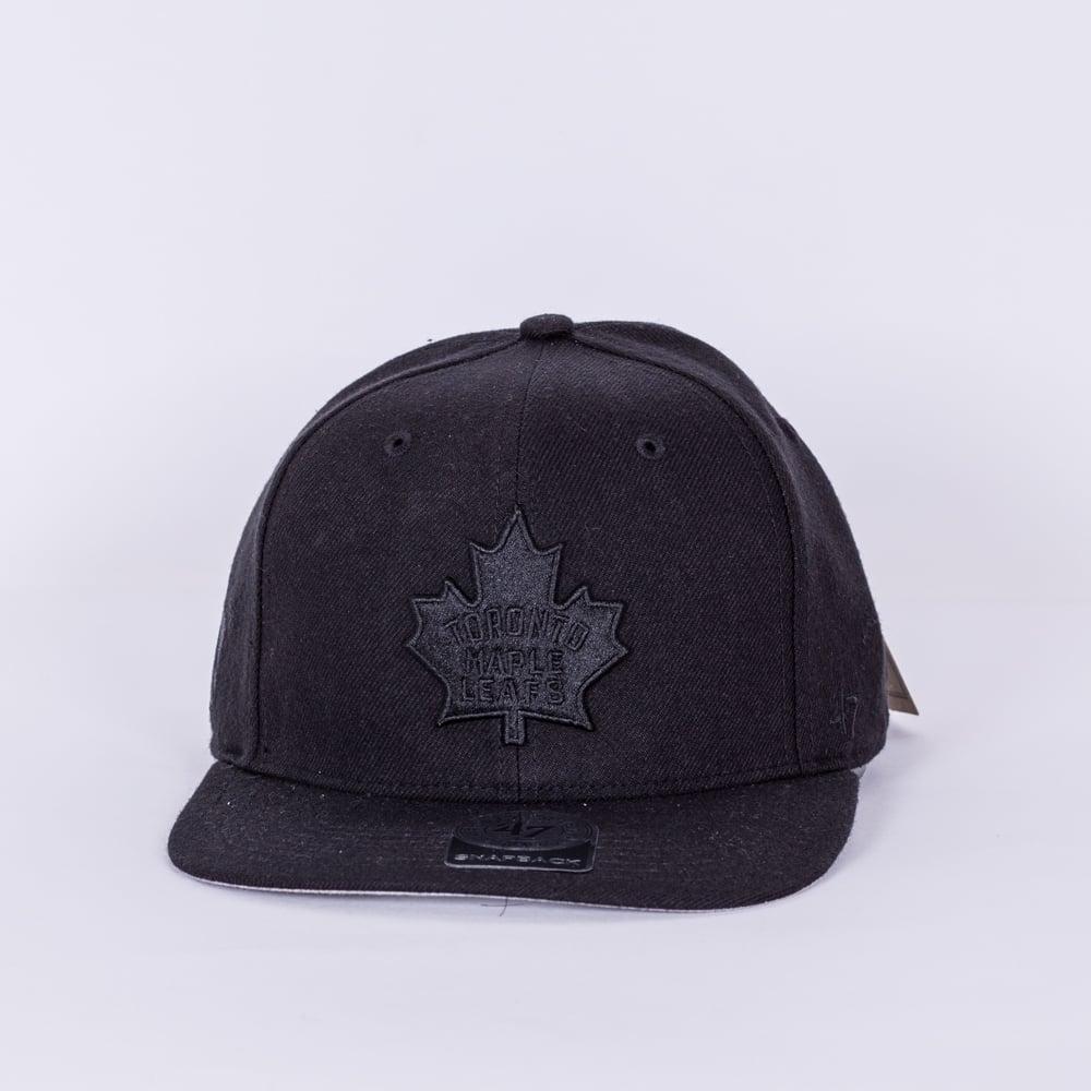 47 NHL Toronto Maple Leafs Vintage Blackout Snapback Cap - Teams ... c15b08185f1