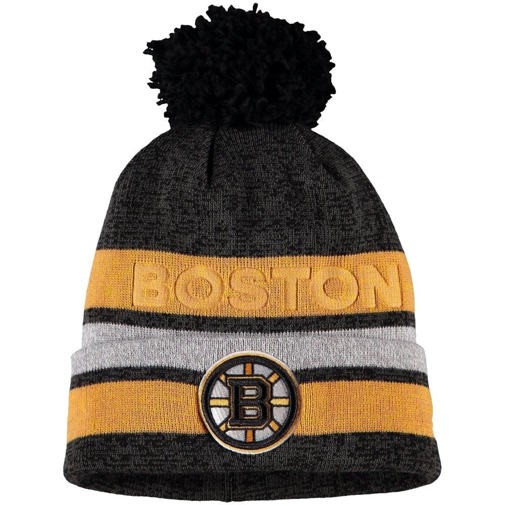 ab2cd2a9cd4 Adidas NHL Boston Bruins Juliet Cuffed Pom Knit - Knits from USA ...