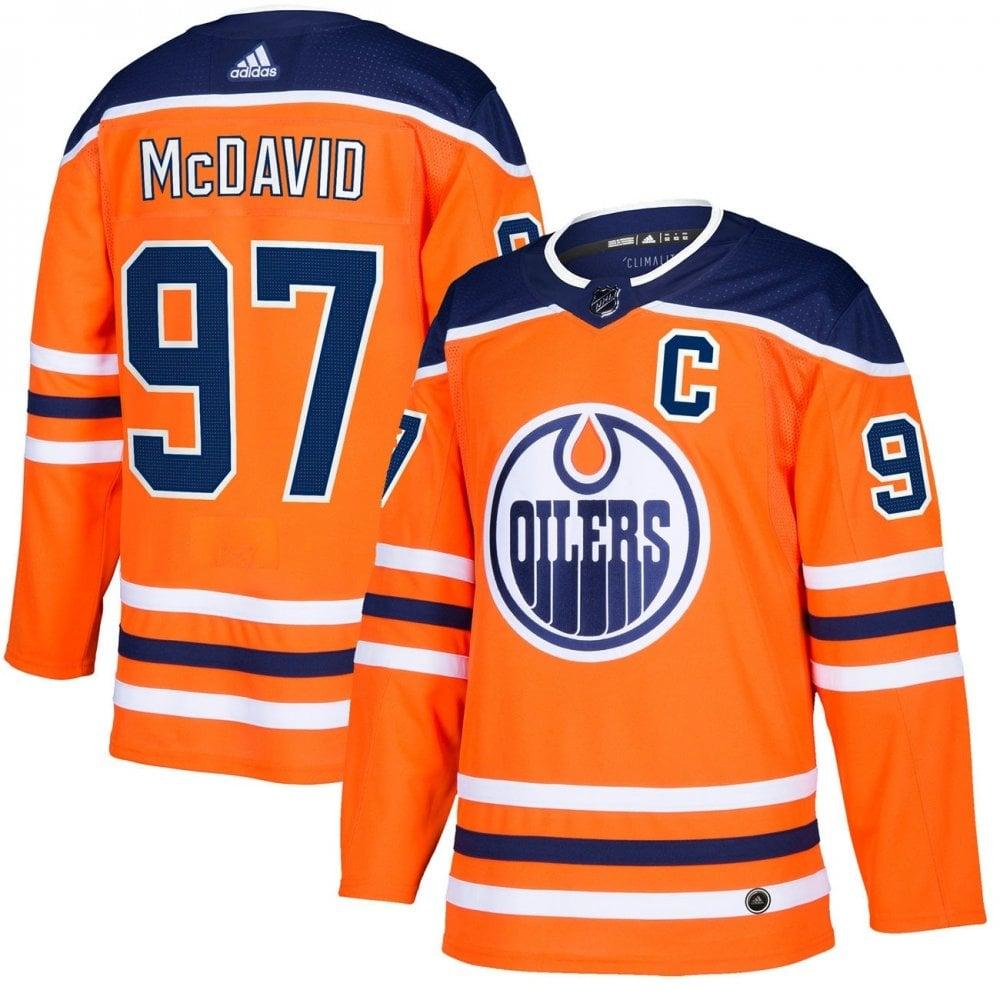 109a99ec3cc Adidas NHL Edmonton Oilers Authentic Pro Home Jersey - Connor ...