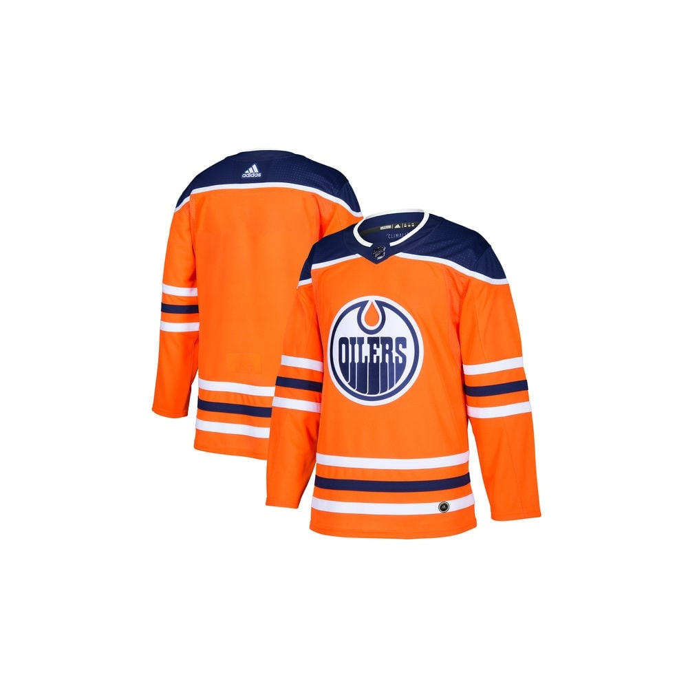 detailed look f27eb c65b8 Adidas NHL Edmonton Oilers Authentic Pro Home Jersey