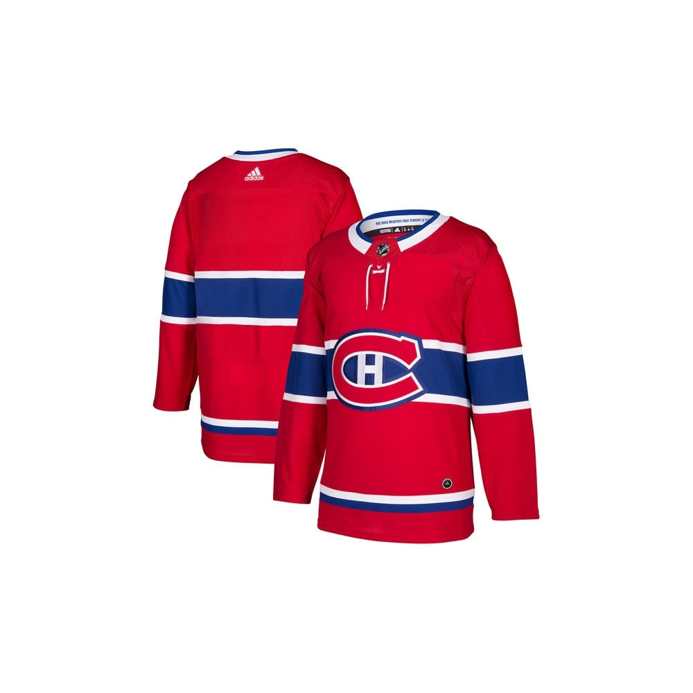 Adidas NHL Montreal Canadiens Authentic Pro Home Jersey - Fan Wear ... 3817a8ed7
