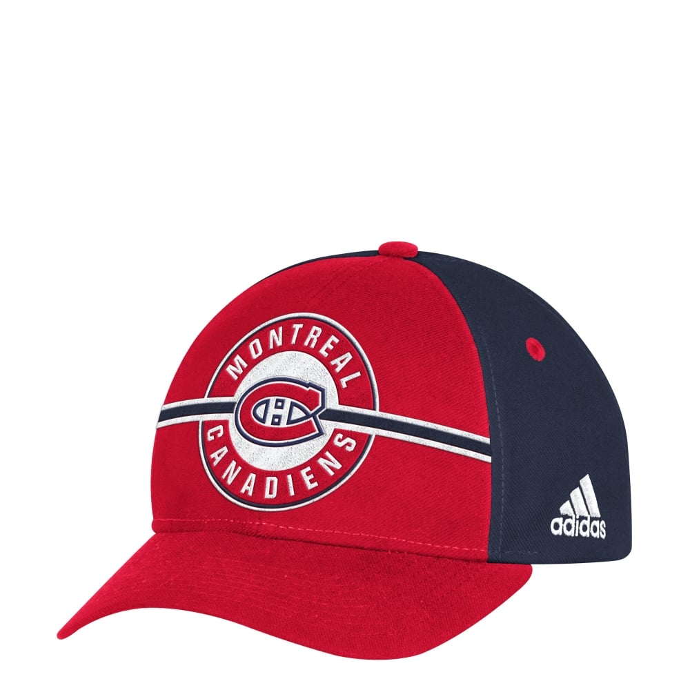 best service 361e4 6679c ... coupon nhl montreal canadiens structured adjustable cap dfbf1 6f57b