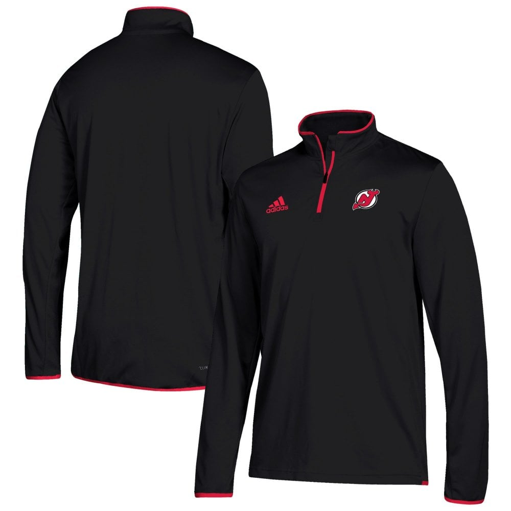 factory price 09f03 b7012 NHL New Jersey Devils Climalite Quarter-Zip Pullover Jacket