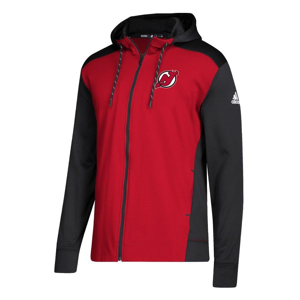 93476e4bb14 Adidas NHL New Jersey Devils Full Zip Hood - Fan Wear from USA Sports UK