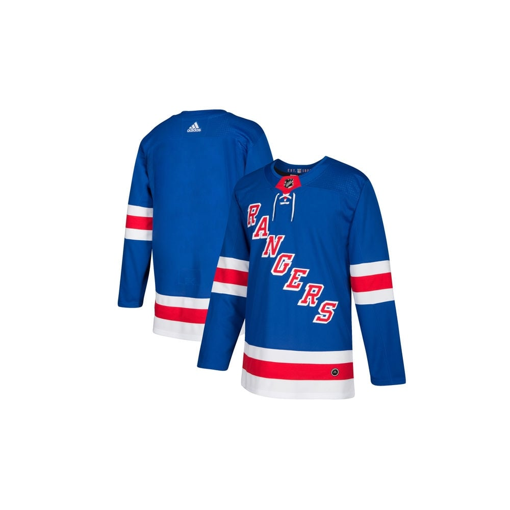 Adidas NHL New York Rangers Authentic Pro Home Jersey - Fan Wear ... 9166709061e