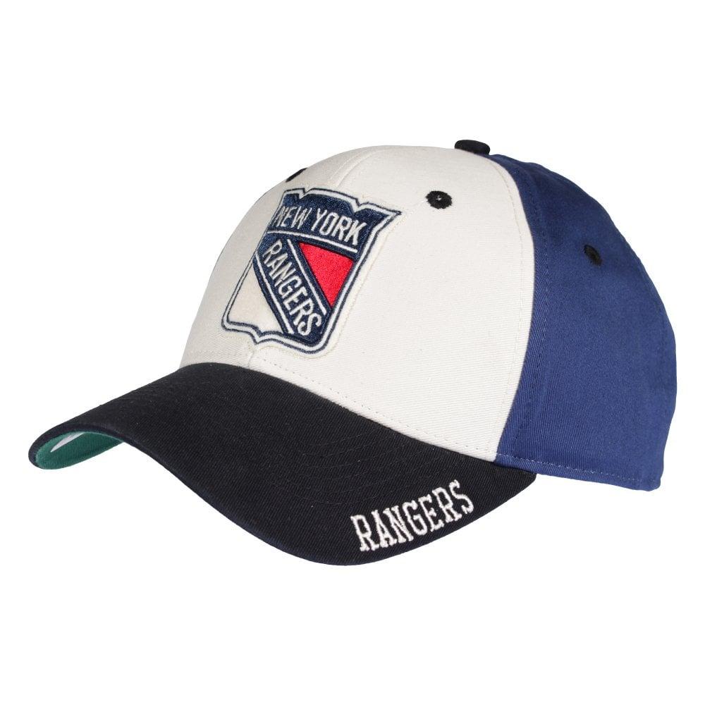 new style 89e7c df7a3 NHL New York Rangers STR Adjustable Cap