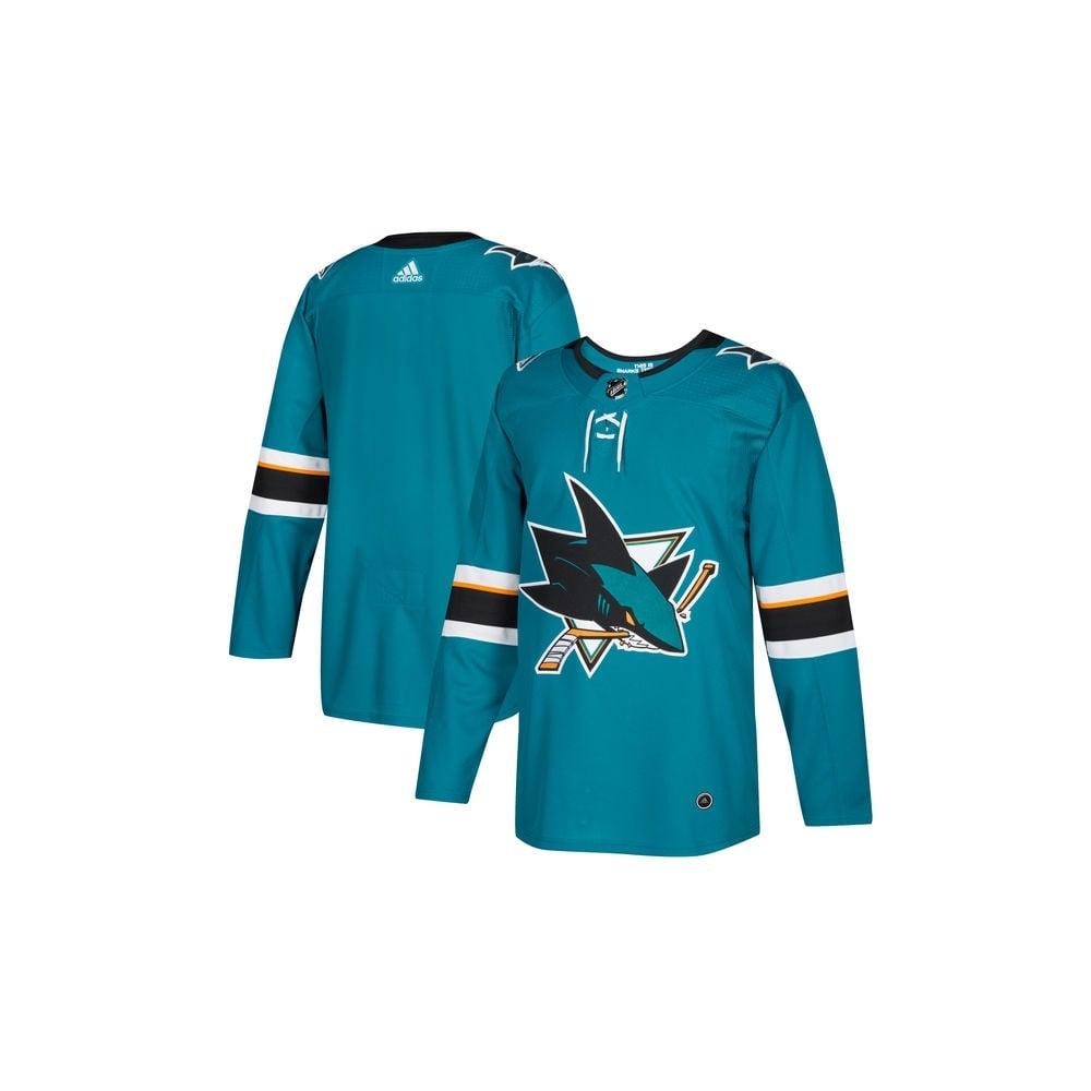 Adidas NHL San Jose Sharks Authentic Pro Home Jersey - Fan Wear from ... 088d6f9d4