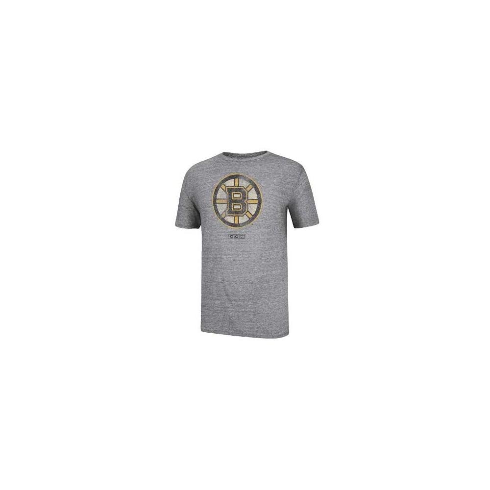 ee5a5842f CCM NHL Boston Bruins Bigger Logo T-Shirt - Teams from USA Sports UK
