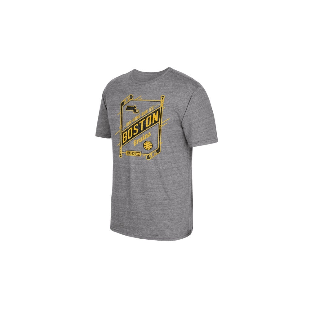571ee8f4c CCM NHL Boston Bruins Our Home Our Ice T-Shirt - Teams from USA ...