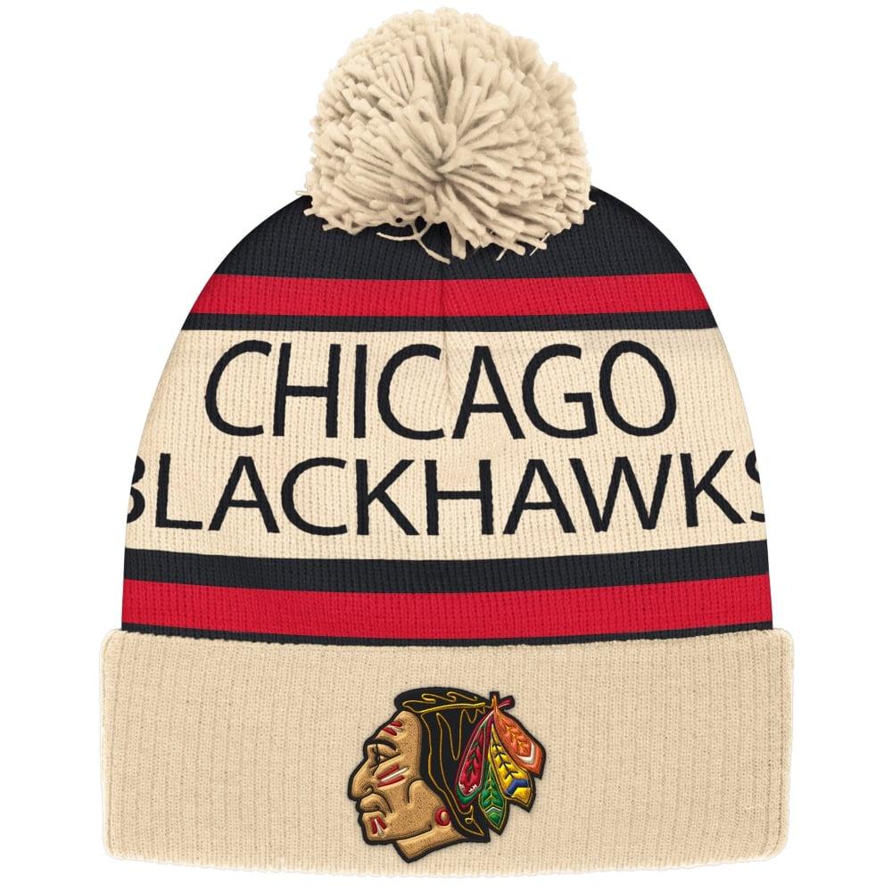 f56ca7336ca CCM NHL Chicago Blackhawks Vintage Cuffed Pom Knit - Knits from USA ...