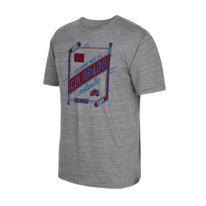 CCM NHL Colorado Avalanche Our Home Our Ice T-Shirt