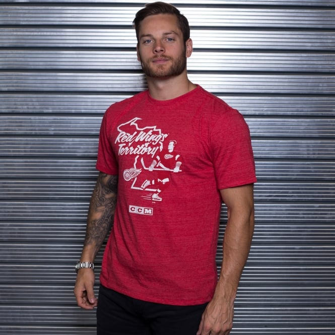CCM NHL Detroit Red Wings Territorial T-Shirt
