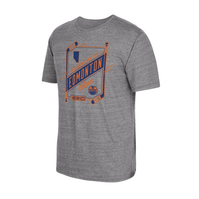 CCM NHL Edmonton Oilers Our Home Our Ice T-Shirt