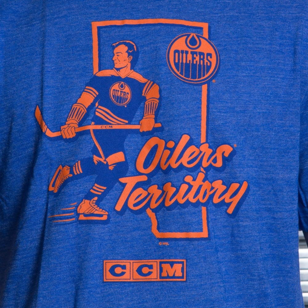 Edmonton oilers t shirt uk