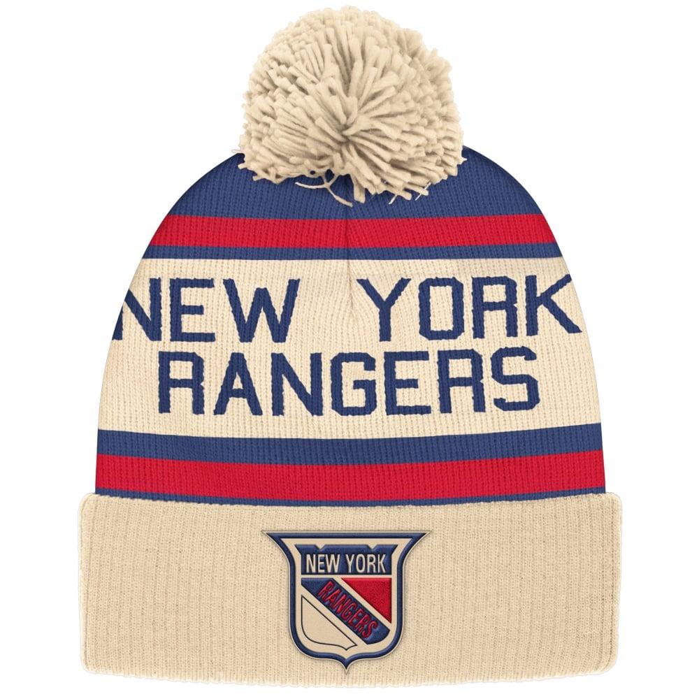 fcb242d680f CCM NHL New York Rangers Vintage Cuffed Pom Knit - Knits from USA ...
