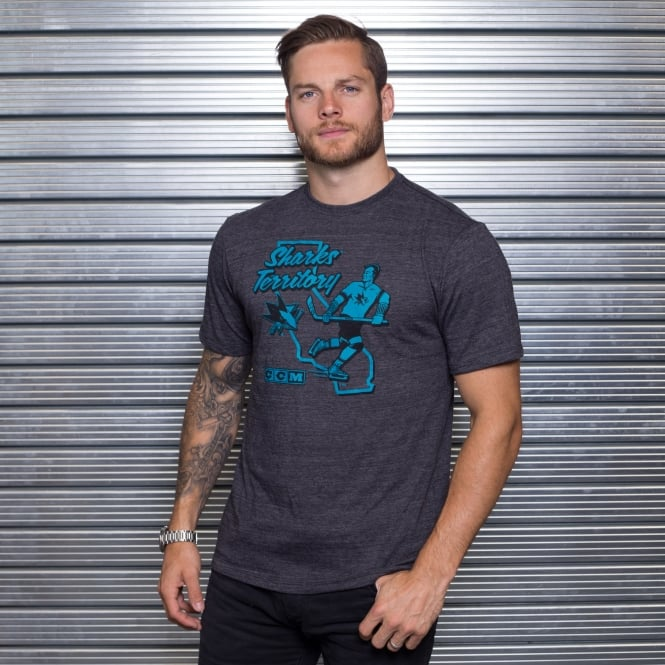 CCM NHL San Jose Sharks Territorial T-Shirt