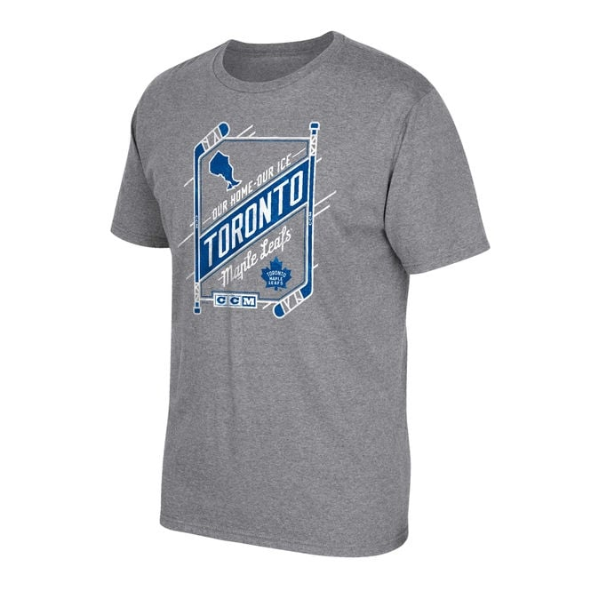 CCM NHL Toronto Maple Leafs Our Home Our Ice T-Shirt