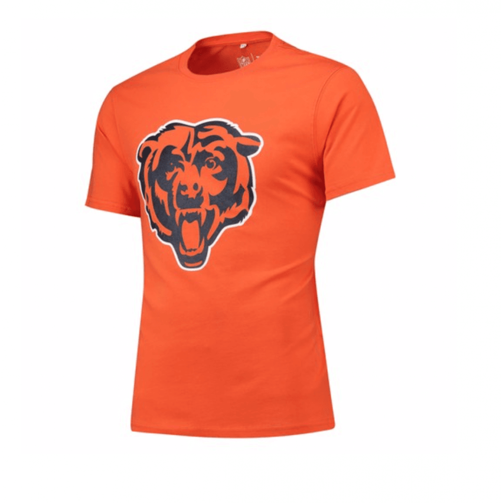 online store 0f111 4f732 Fanatics NFL Chicago Bears Secondary Logo T-Shirt