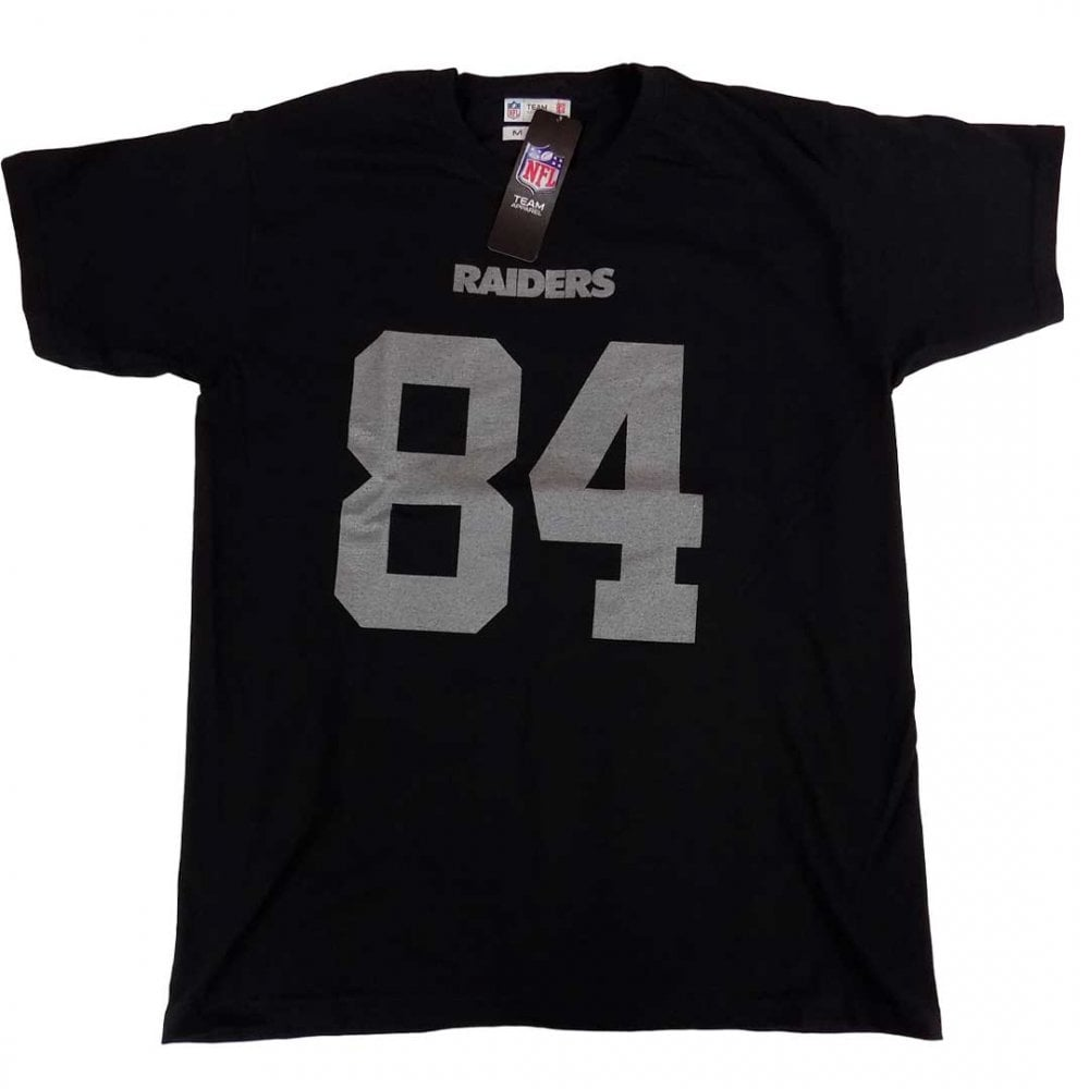 watch 30a07 56412 Fanatics NFL Oakland Raiders Antonio Brown Player Name & Number T-Shirt