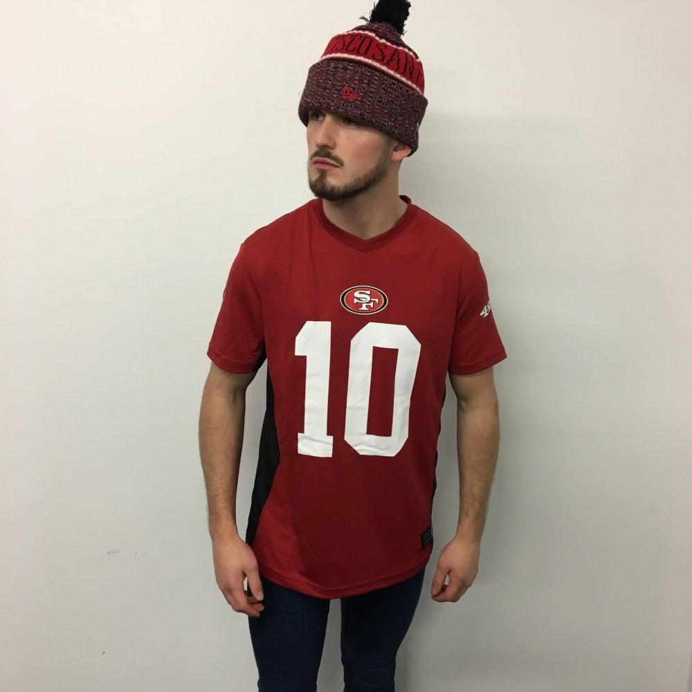 brand new db77d b8a5c Fanatics NFL San Francisco 49ers Poly Mesh Name & Number T-Shirt
